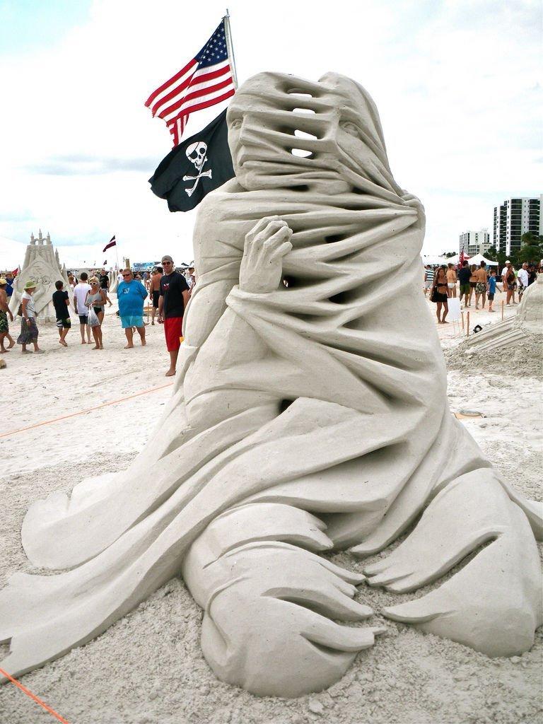 Rzeźby z piasku #5 3