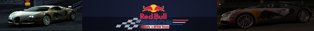 Wendys Red Bull Racing Team Leaderboard graphic