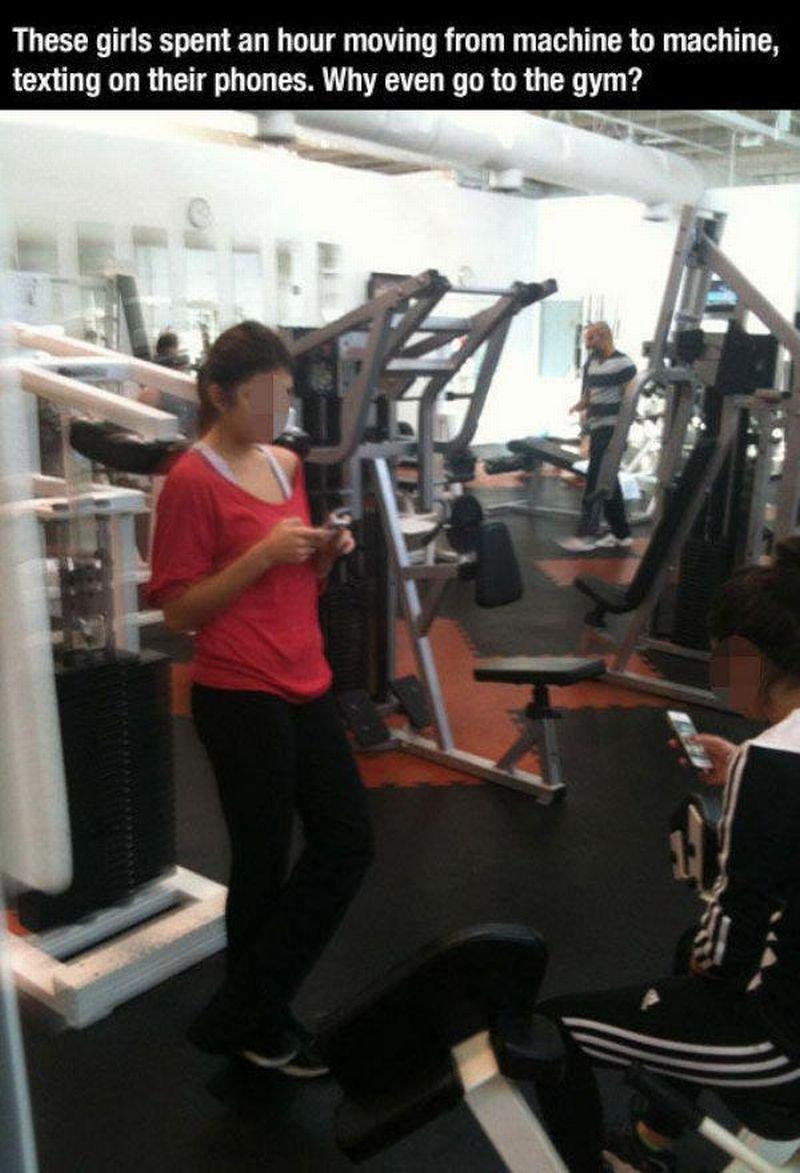 Na siłowni #2 16