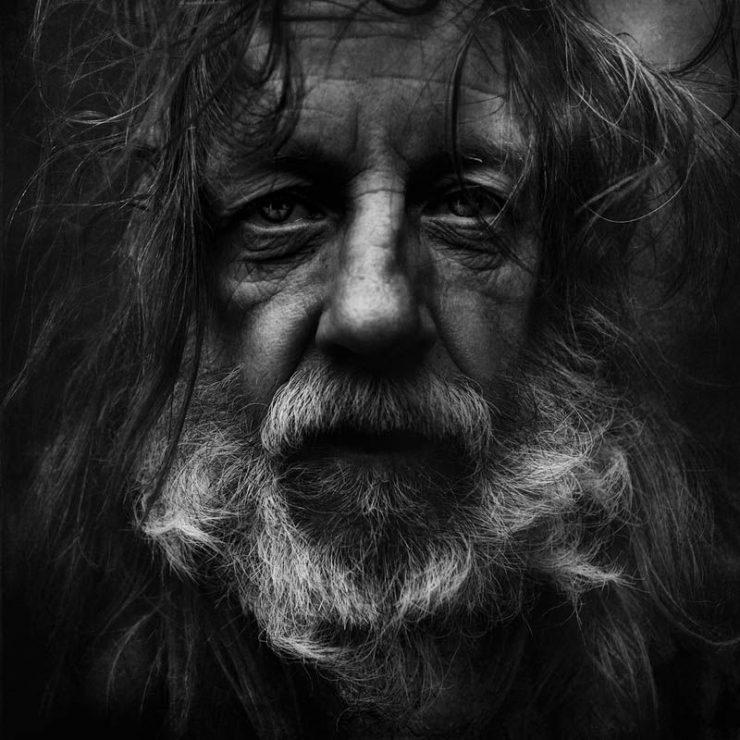 Niezwykłe zdjęcia bezdomnych. 9