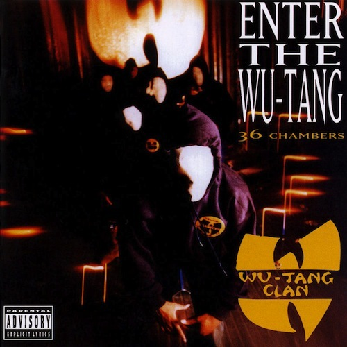 Cover: Wu-Tang Clan - Enter the Wu Tang (36 Chambers) (1993)