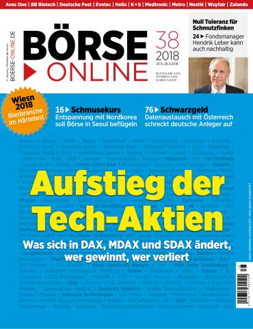 Börse Online Magazin No 38 vom 20 September 2018