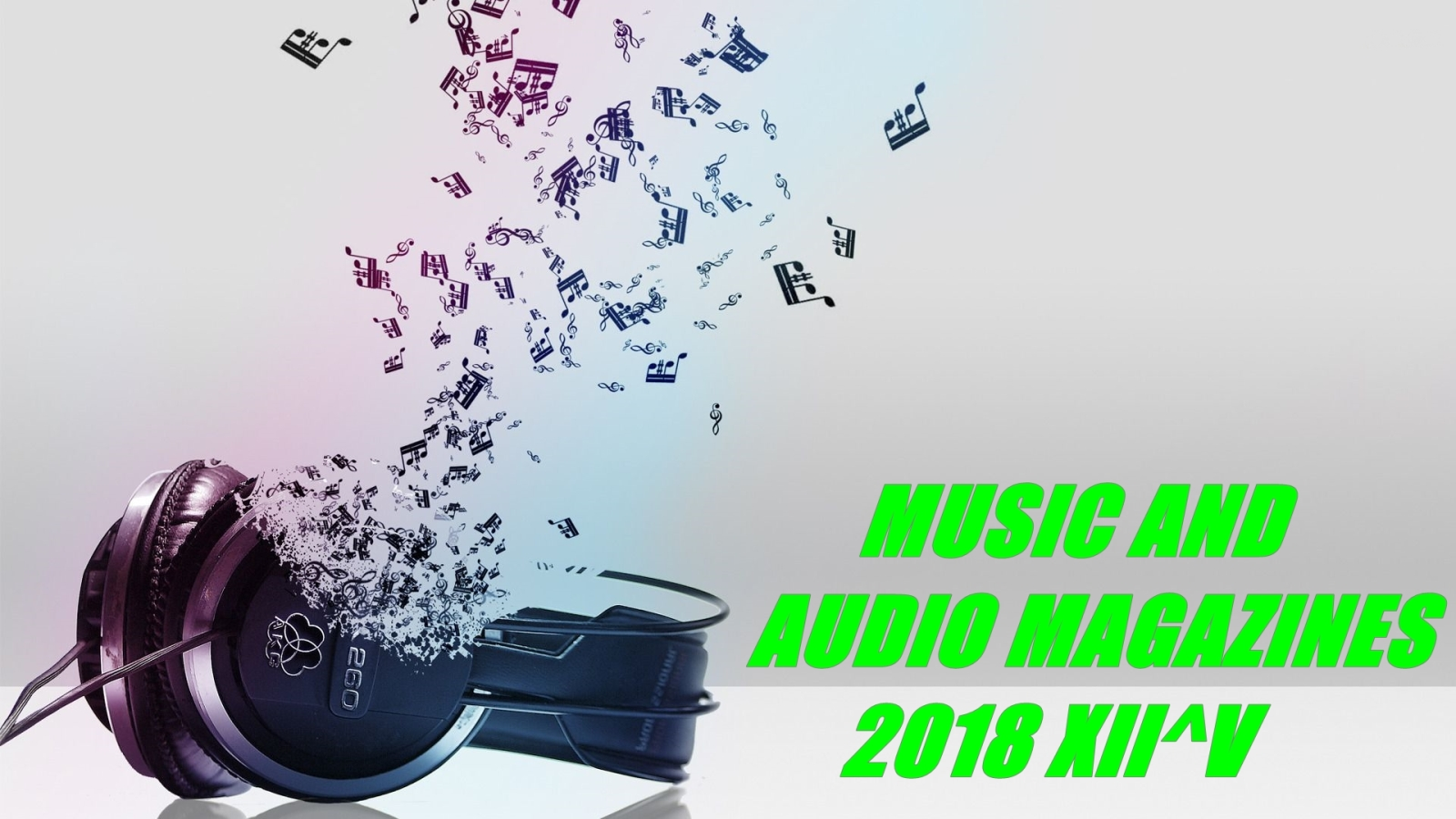 Music and Audio Magazines 2018 XII