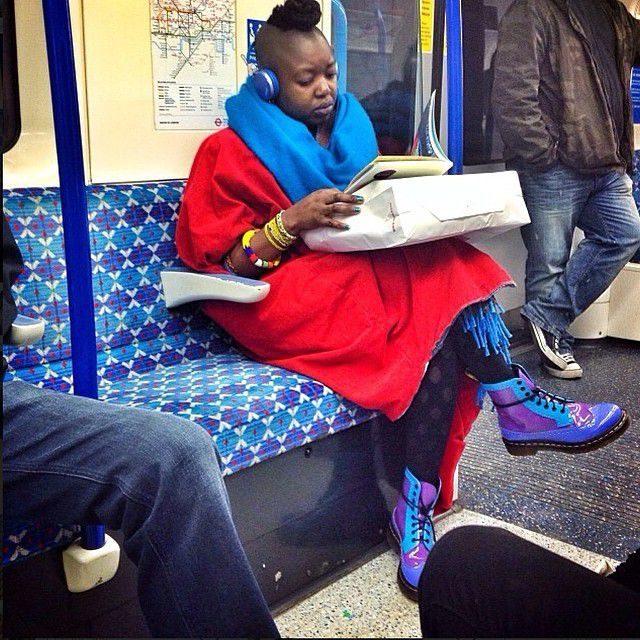 Najdziwniejsi pasażerowie metra 23