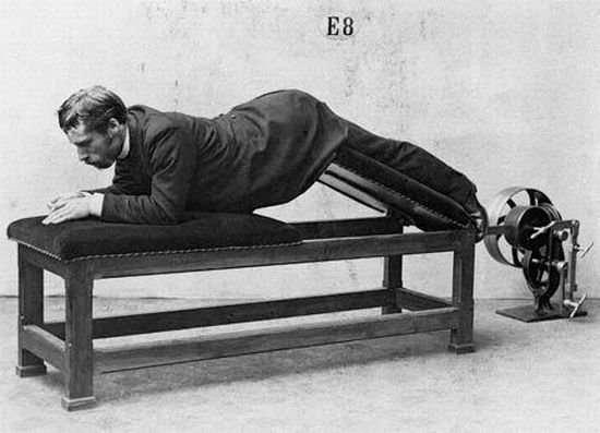 Fitness 100 lat temu 1