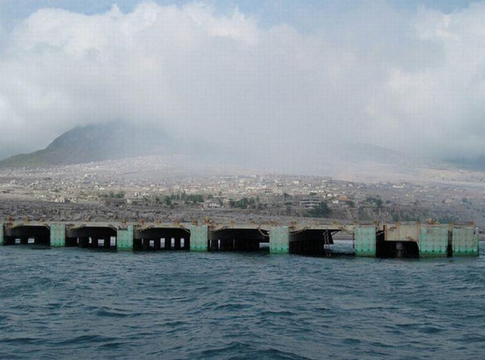 Miasto po erupcji wulkanu 26