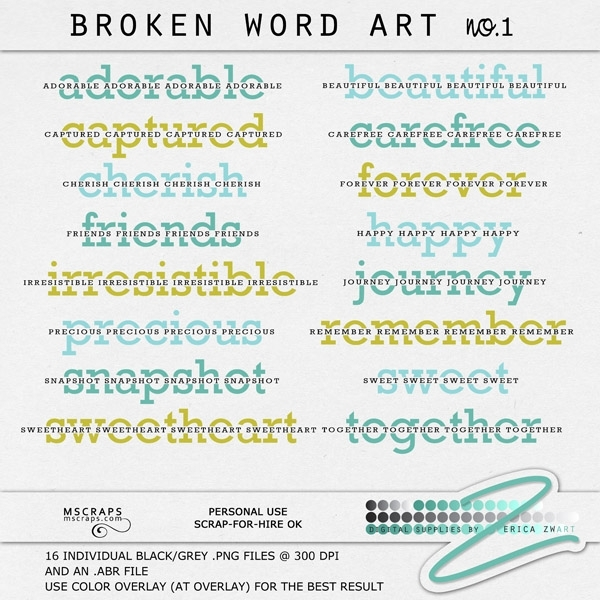 http://www.mscraps.com/shop/Broken-Word-Art-no.1/