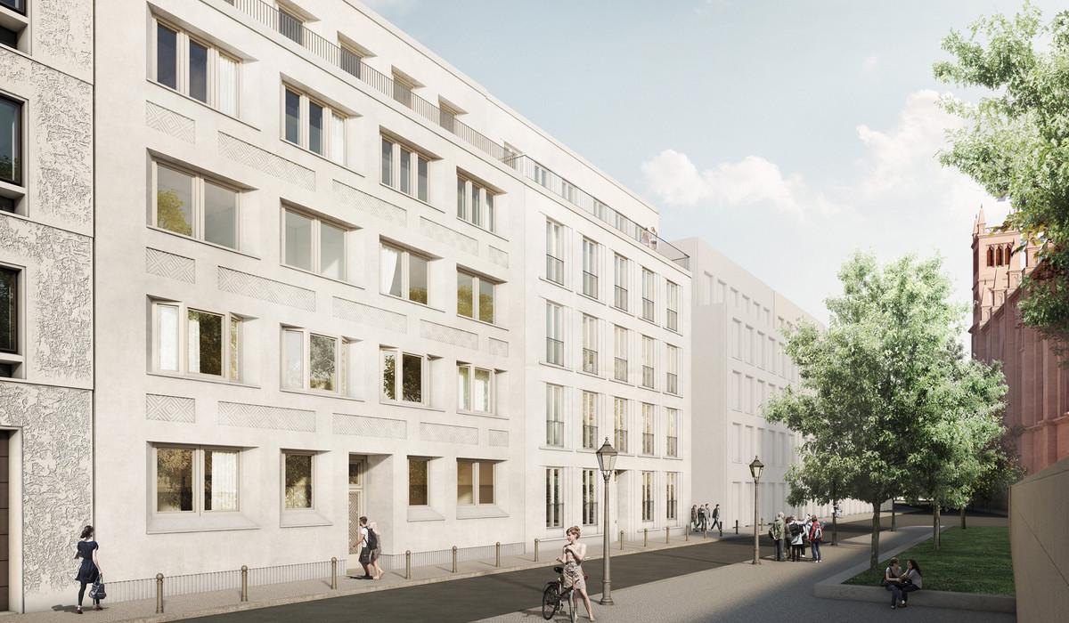 Fassade frontal textur  Neubebauung am Schinkelplatz/Werderscher Markt [Archiv] - Seite 2 ...