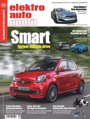 Elektroautomobil Magazin August-September No 04 2018