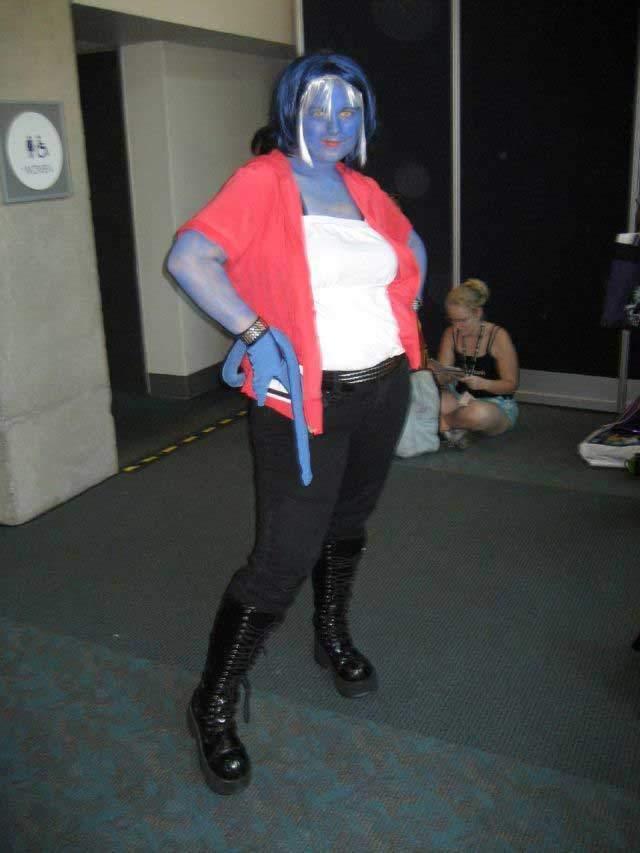 Nieudany cosplay 16