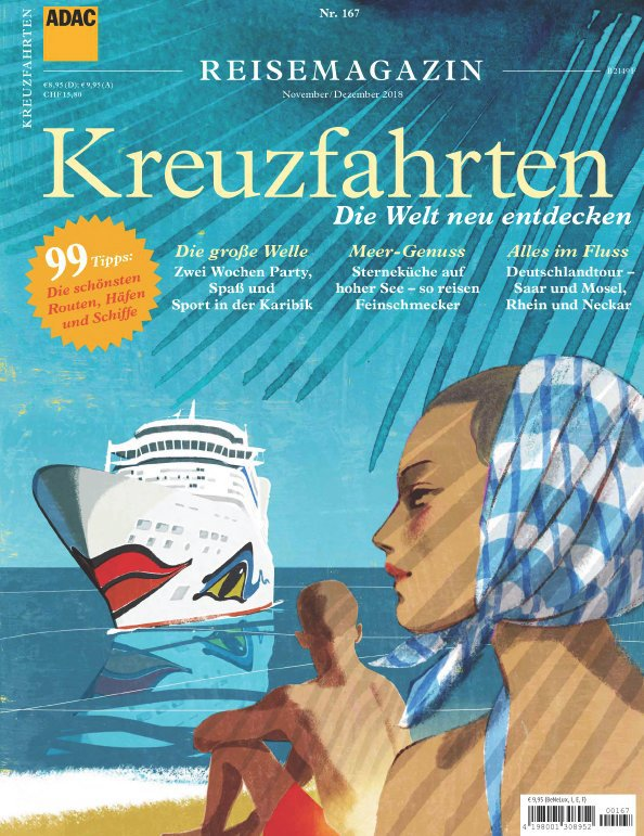 ADAC-Reisemagazin (Kreuzfahrten) November-Dezember 2018