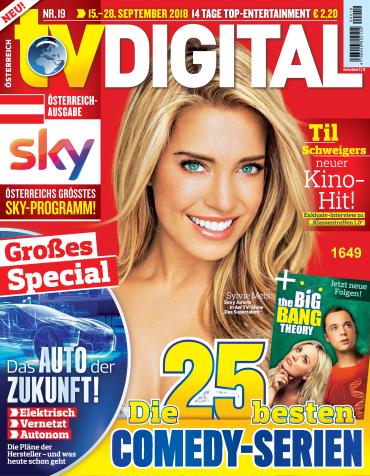 :  TV Digital Fernsehzeitschrift September No 19 2018