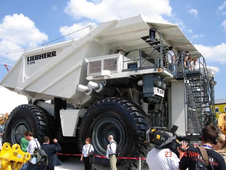 Największe ciężarówki świata 24