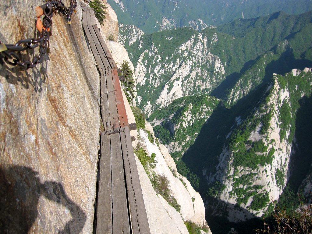 Droga na szczyt Hua Shan 21