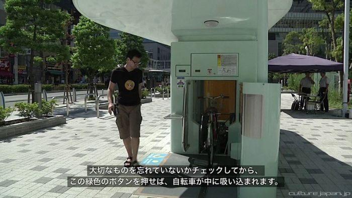 Zautomatyzowany parking rowerowy 5