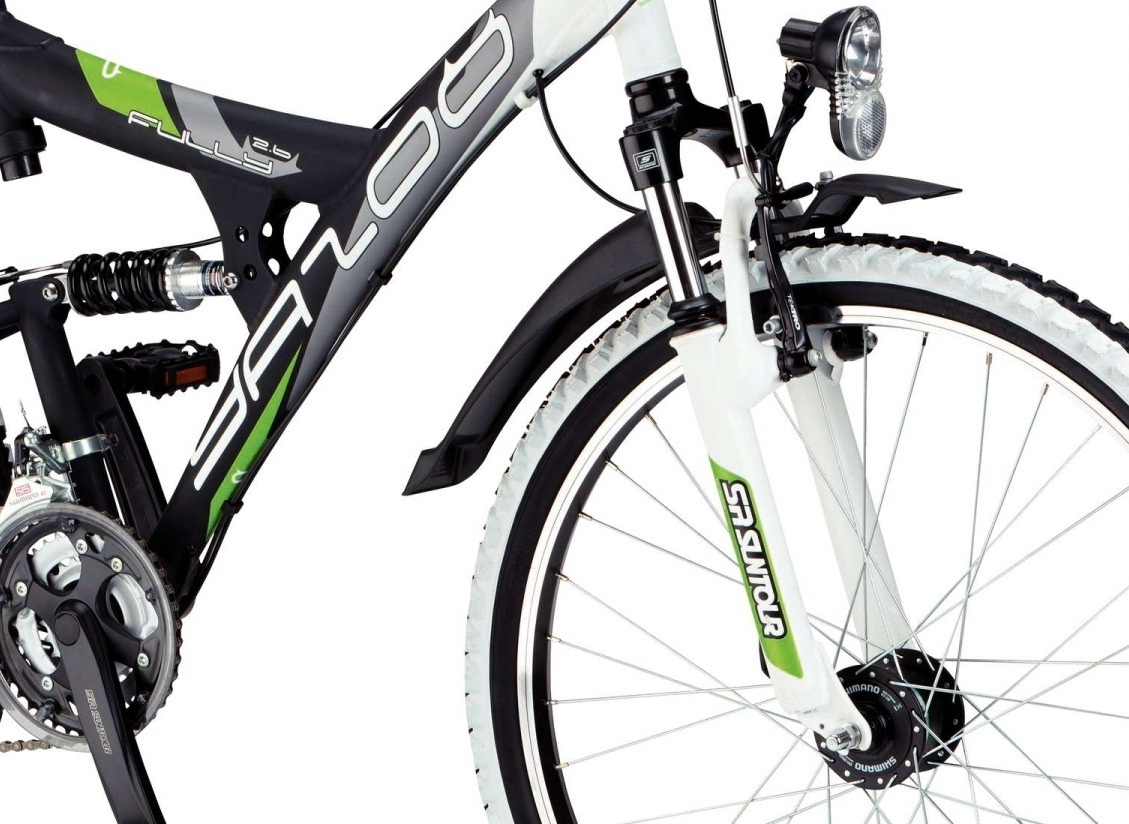 jugend mountainbike yazoo fs 2 6 atb 26 zoll fahrrad 48 cm. Black Bedroom Furniture Sets. Home Design Ideas