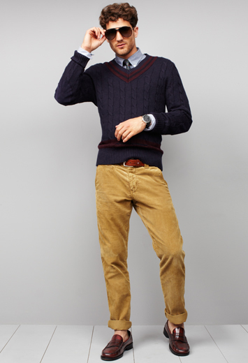 What to wear with black pants men