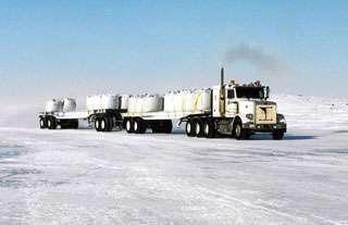 Kanadyjskie drogi lodowe 66