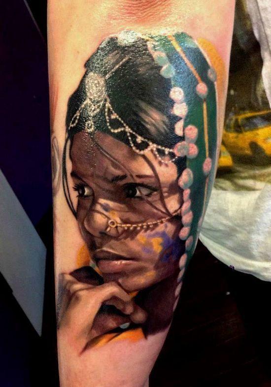 Nietypowe tatuaże #4 9