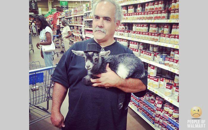 Najdziwniejsi klienci z WalMart #22 20