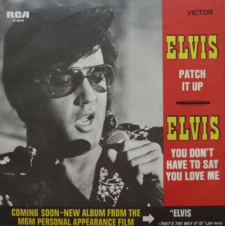 You Don´t Have To Say You Love Me / Patch It Up Youdonthavetorckseite0cjzc