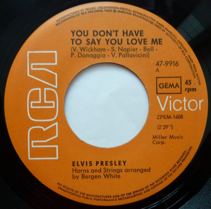 You Don´t Have To Say You Love Me / Patch It Up Youdonthavetoside1mqjdv