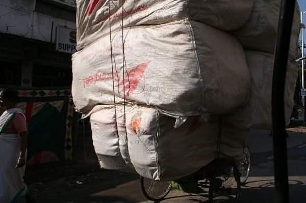 Chiński transport rowerowy 2