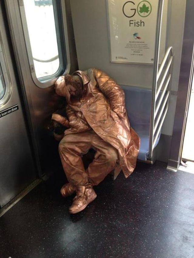 Najdziwniejsi ludzie w metrze 7