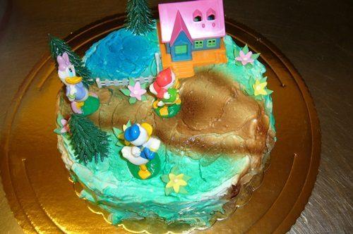 Torty urodzinowe śmieszne jak najbardziej dla dzieci 7