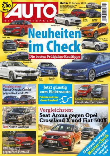 Auto Strassenverkehr Magazin Februar No 06 2019