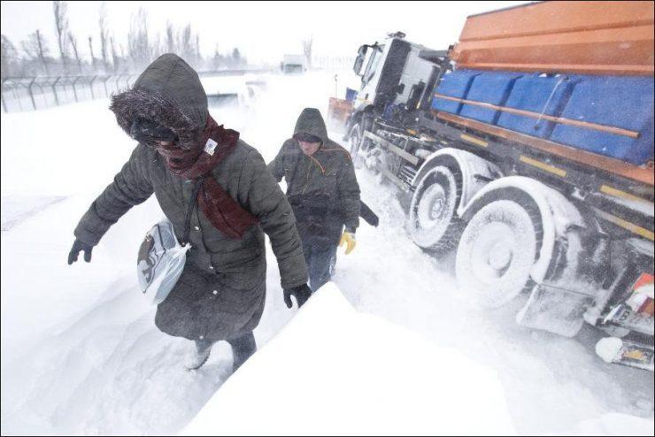 Gwałtowny atak zimy 2