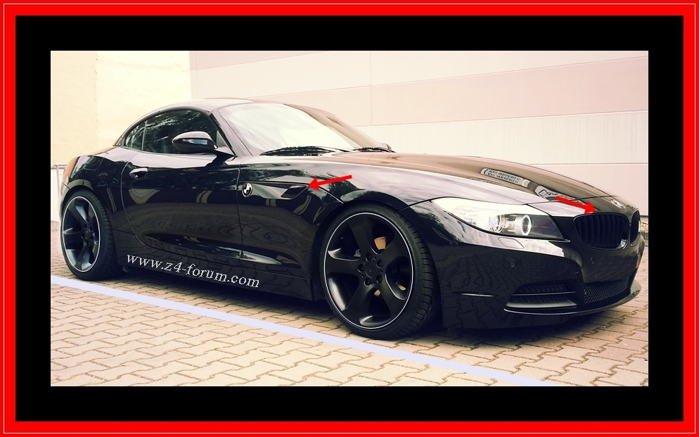 bmw z4 e89 performance nieren z4 e89 seitenblinker black bmw z1 z2 z3 z4. Black Bedroom Furniture Sets. Home Design Ideas