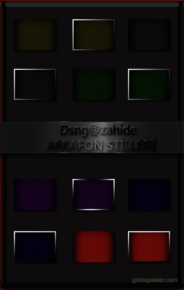 Zahide Photoshop Stilleri Radyo Temaları Için Koyu Renk Photoshop