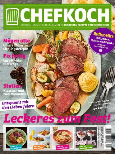 :  Chefkoch Magazin Dezember No 01 2018