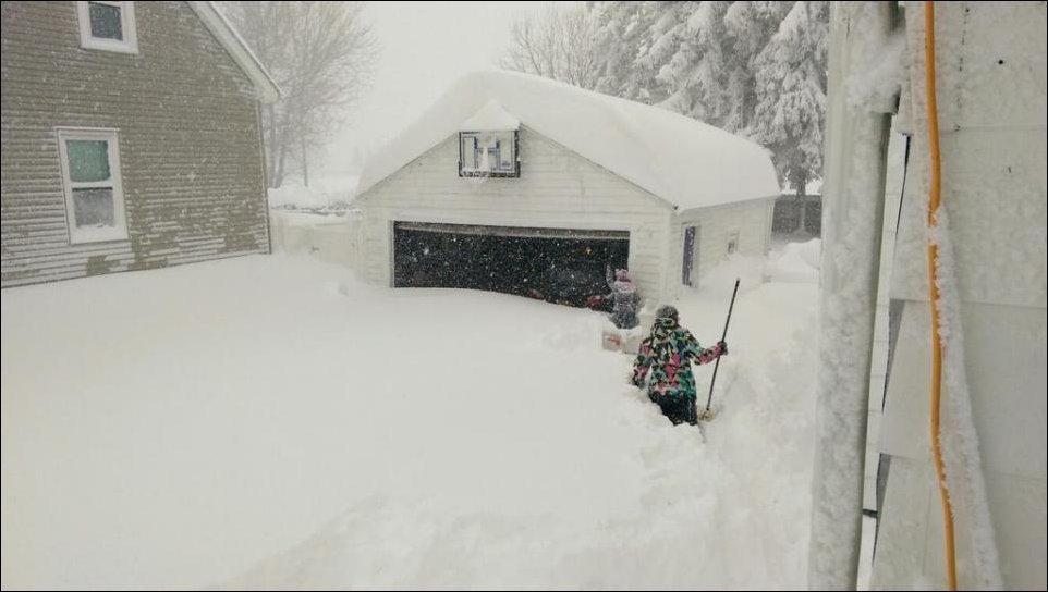 Śnieżyce w USA 45