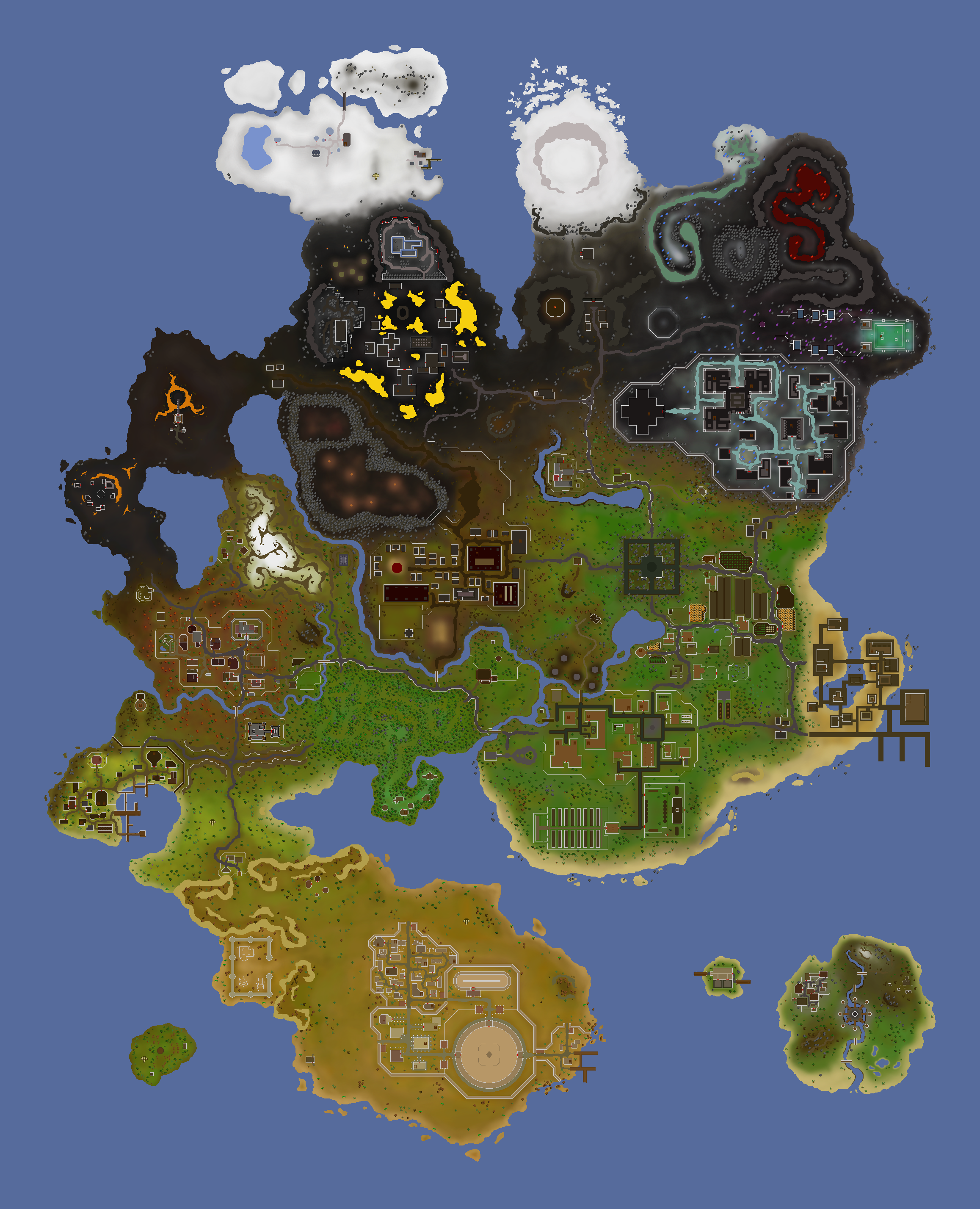 Icons) · Full Osrs Map
