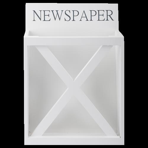 Trendy Daily News: Zeitungshalter DAILY NEWS Shabby Chic Zeitungsständer