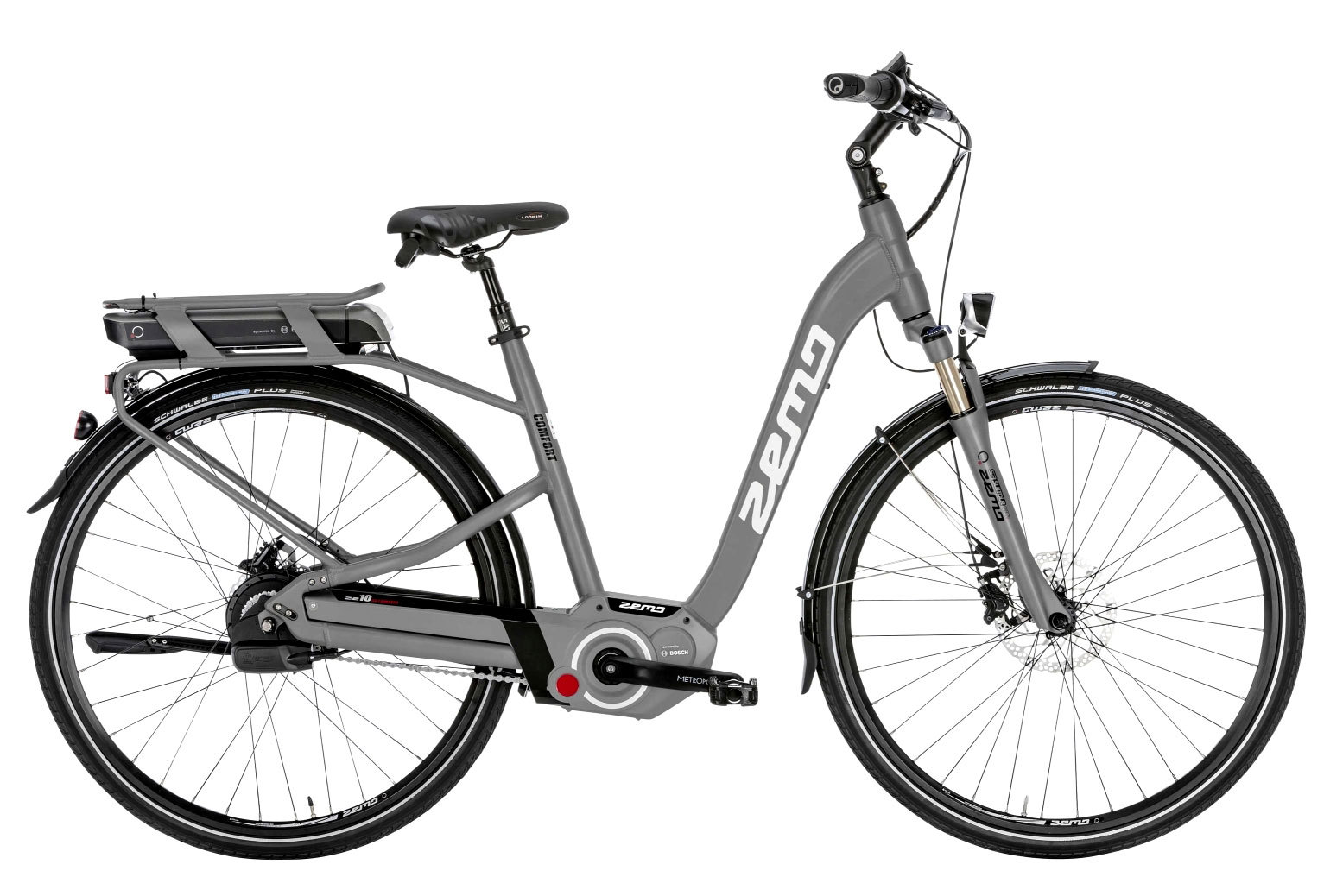 elektro fahrrad zemo ze 10 e bike bosch nuvinci harmony grau 50 cm uvp 3199 ebay. Black Bedroom Furniture Sets. Home Design Ideas