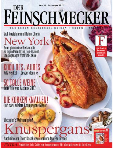 :  Der Feinschmecker Magazin Dezember No 12 2017