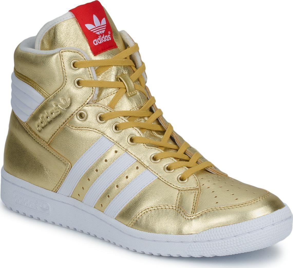 neu damen herren sneaker gold schuhe adidas pro conference high g96912 top. Black Bedroom Furniture Sets. Home Design Ideas