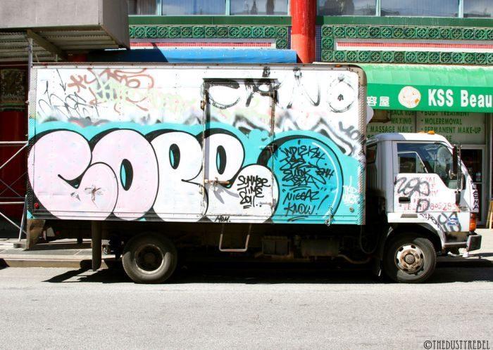 Graffiti na samochodach 19