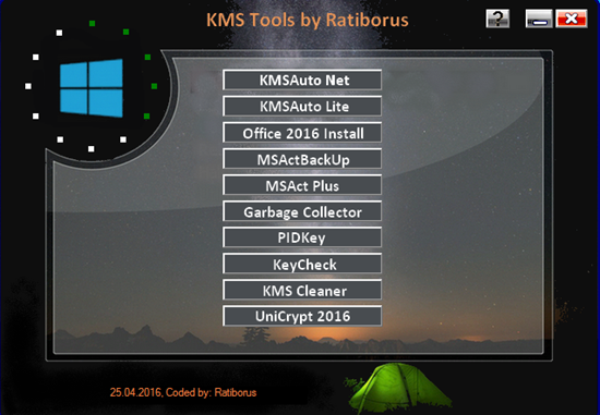 : Ratiborus Kms Tools Portable 08.04.2017