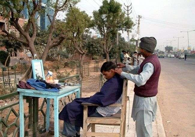 Uliczni fryzjerzy 9