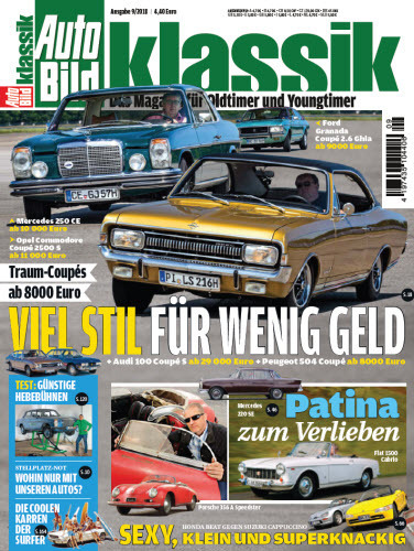 Auto Bild Klassik Magazin September No 09 2018