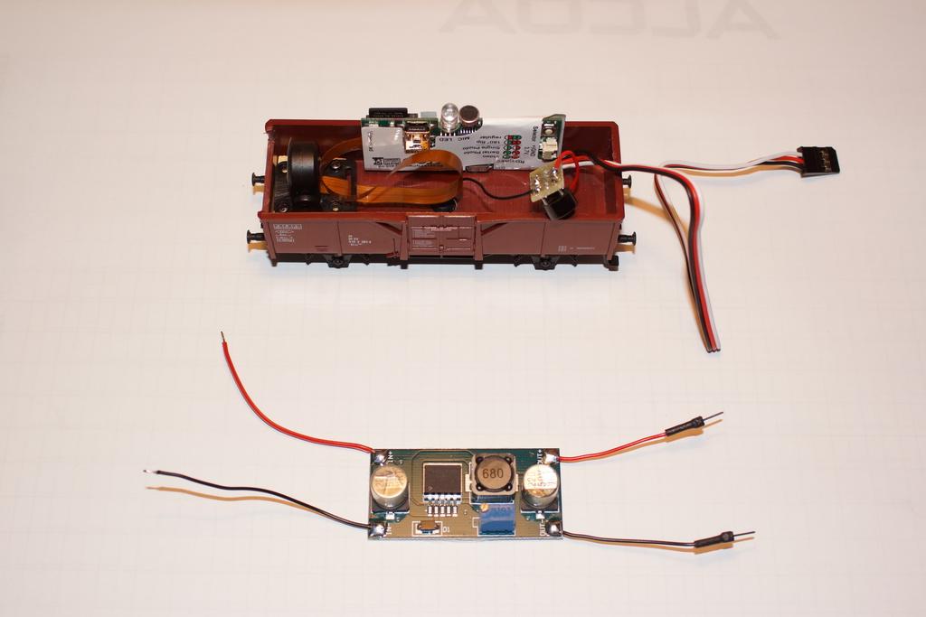 Kamerawagen - Selbstbau für etwa 40 Euro - Stummis Modellbahnforum