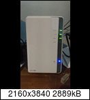 Synology DS216j NAS mit 1x4TB WD RED