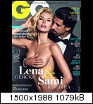 Лена Герке, фото 367. Lena Gercke & Sami Khedira - GQ Germany (March 2012), foto 367
