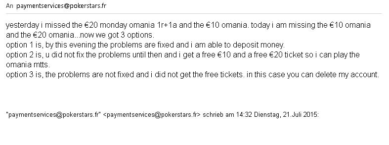 deposit bonus pokerstars.fr