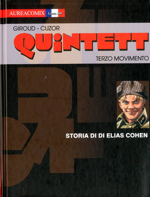 AureaComix Linea BD 026 - Quintett 3 - Storia di Elias Cohen (01-2018)