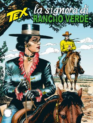 Tex Willer Mensile 718 - La signora di Rancho Verde (Agosto 2020)